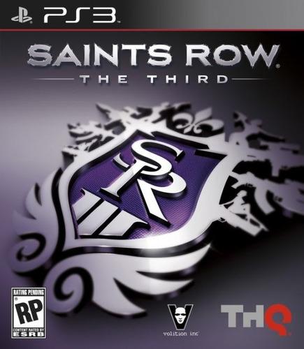 saints row 3 the third  ps3