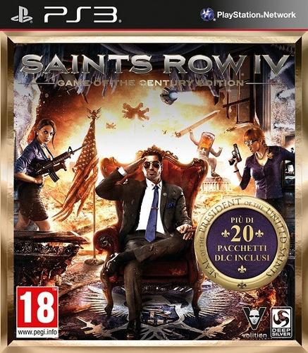 saints row 4 iv game century edition (contiene 24 dlc) ps3
