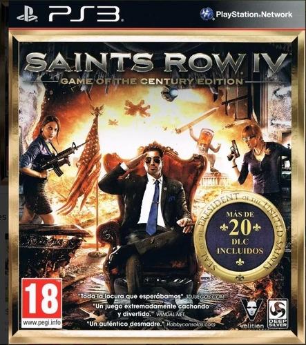 saints row 4 juego del siglo ps3 - play perú