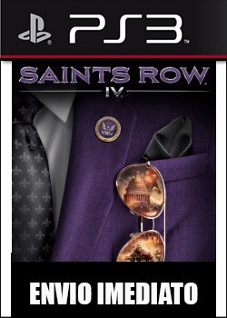 saints row 4 ps3 psn - midia digital