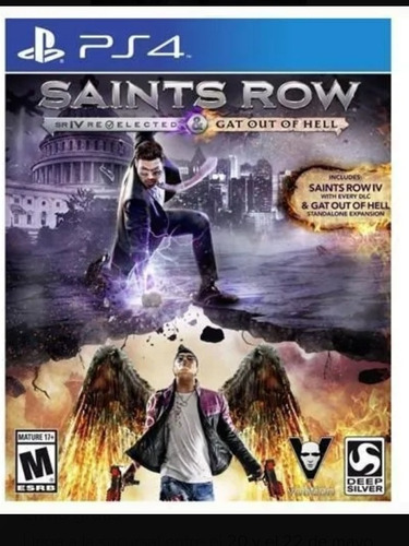 saints row: gat out of hell para play station 4 (ps4)