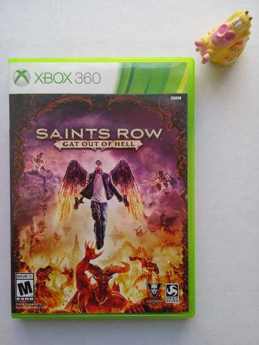 saints row gat out of hell xbox 360 garantizado