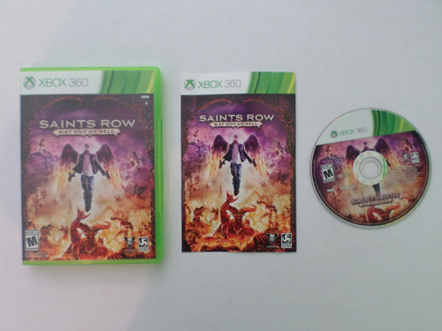 saints row gat out of hell xbox 360 garantizado