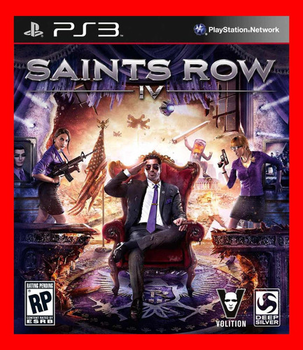 saints row iv 4 ps3 psn play3 estilo gta