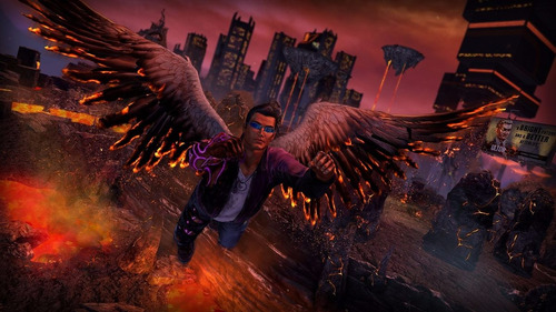 saints row iv re-elected + gat out of hell ps4 stock ya