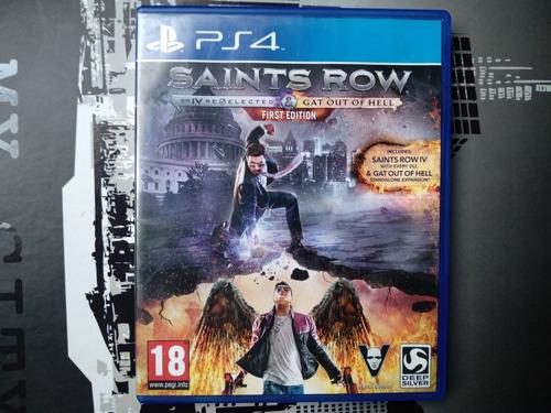 saints row ps4 juego