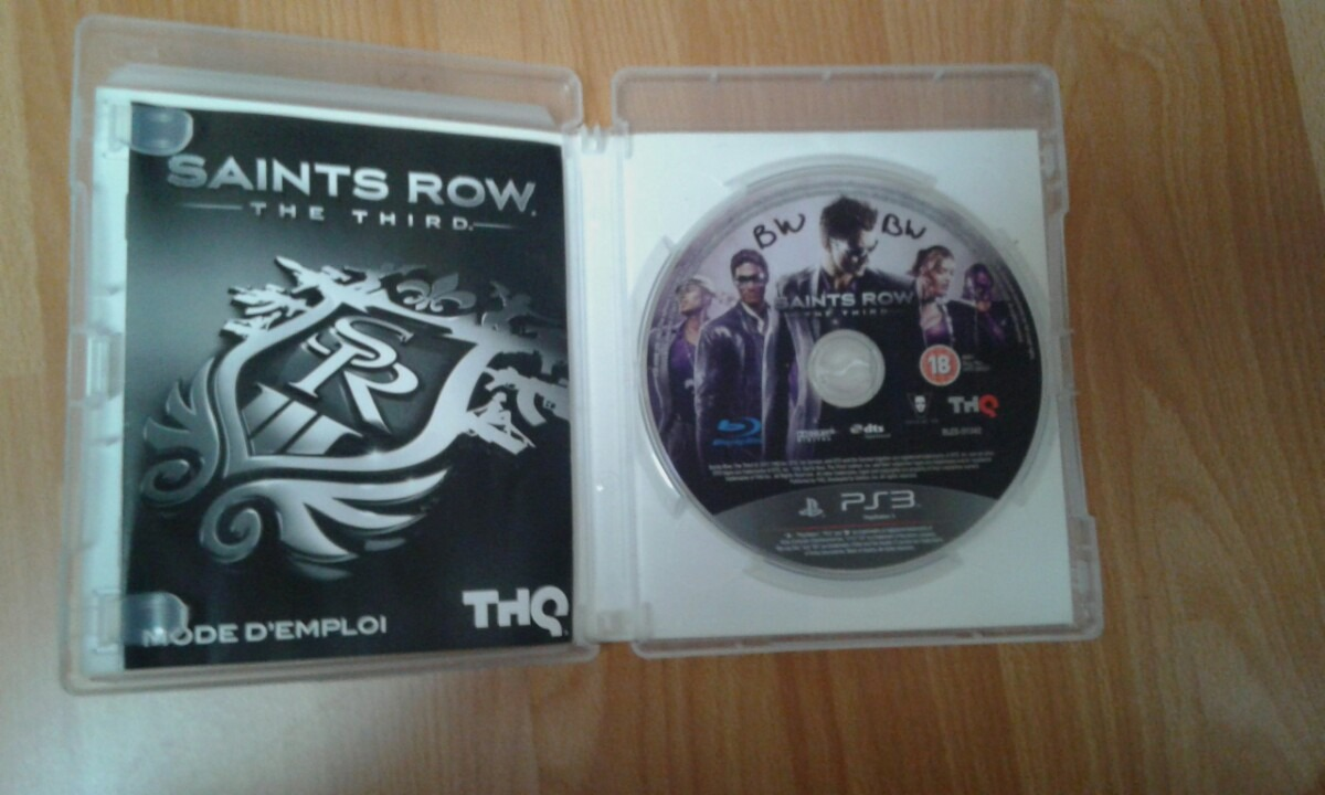 saints row the third usado