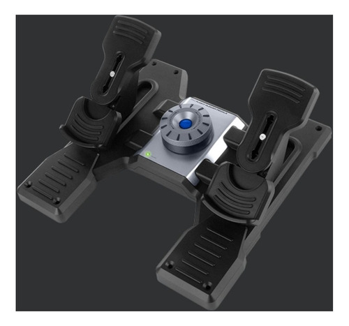 saitek logitech g pro flight rudder pedals vuelo hace1click2