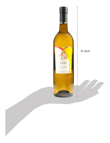 sake hana, sabor lychee (sake saborizado) 750ml
