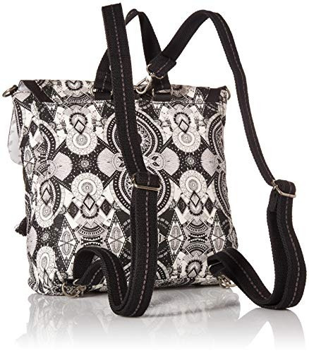 fe1bb7fdb Sakroots Colette Convertible Backpack, Black / White Wanderl ...