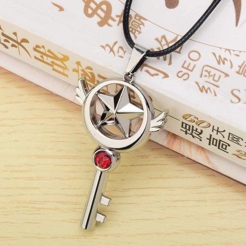 sakura card captor collar metal importado