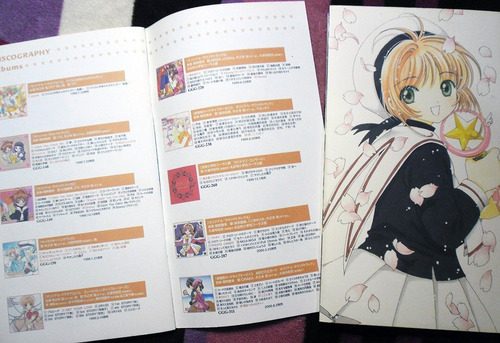 sakura card captor complete vocal collection (set de 4 cds)