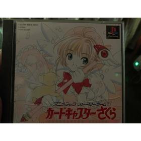 Sakura Card Captor Ps One Play Station One Dvd