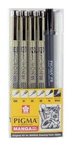 sakura kit tiralíneas y gelly roll manga basic - dibuchile