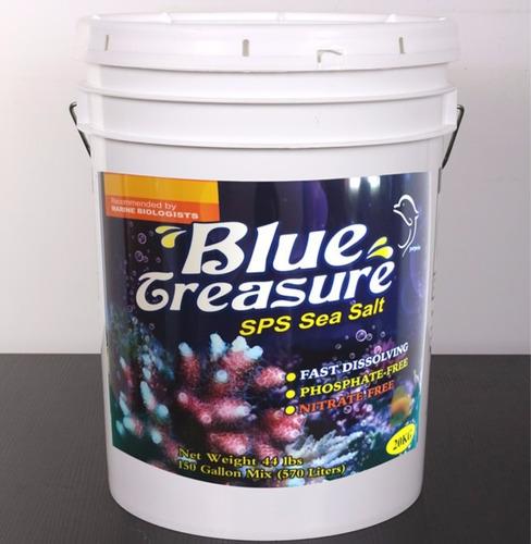 sal blue treasure sps sea salt 20kg (balde)