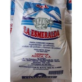 Sal Consumo Humano La Esmeralda 25kg