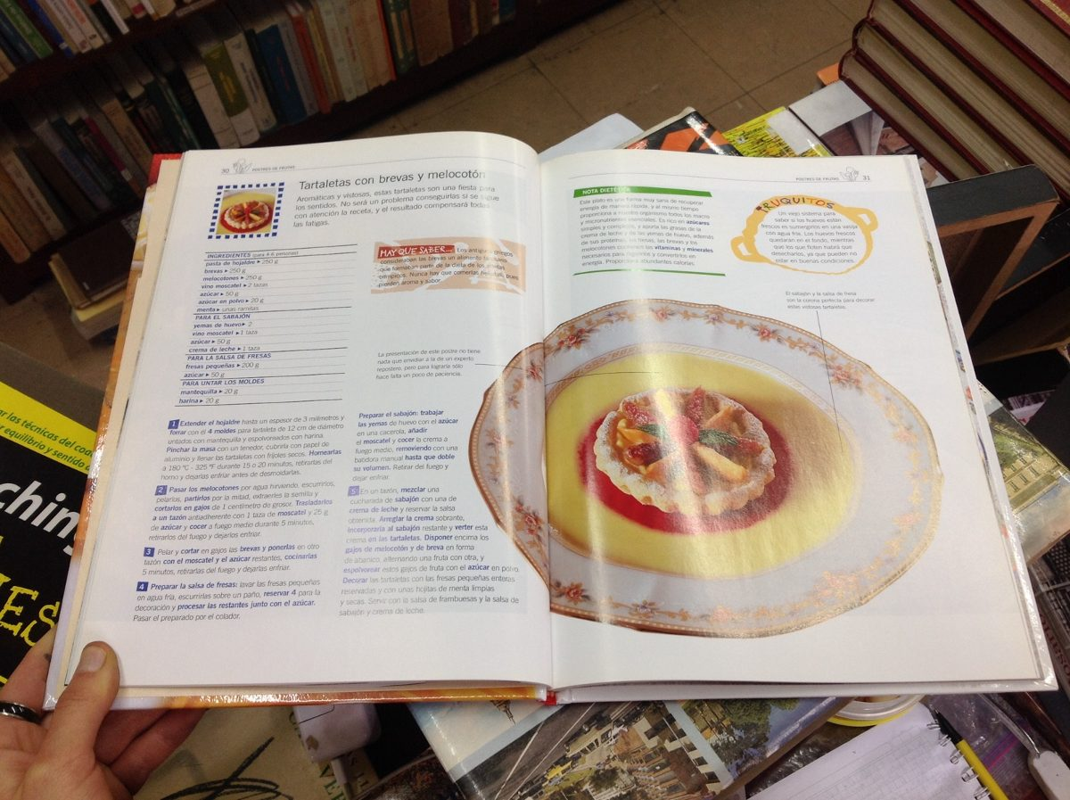 Sal de la olla cocina para todos postres recetas for Cosina para todos