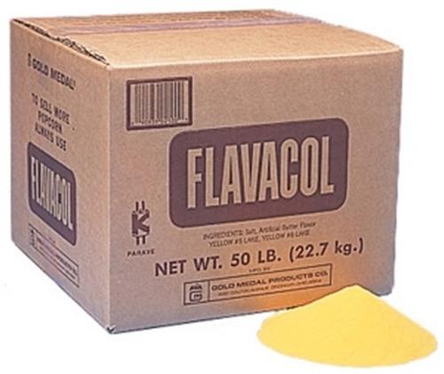 sal de mantequilla flavacol máquina de palomitas olla 1/2 kg