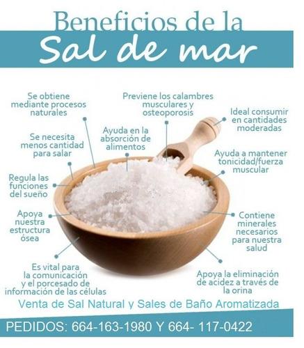 sal de mar aromatizada