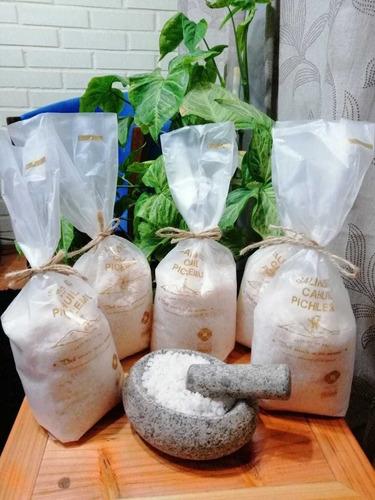 sal de mar desde las salinas de cáhuil 1 kilo