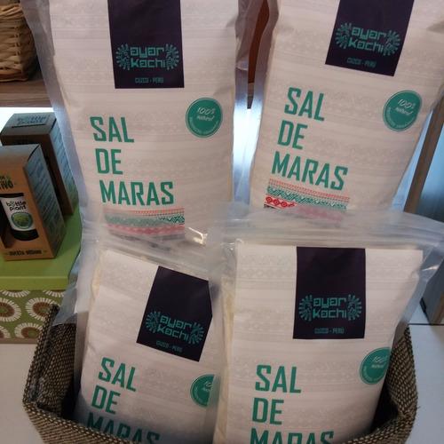sal de maras (cuzco) x 1 kg  100% natural