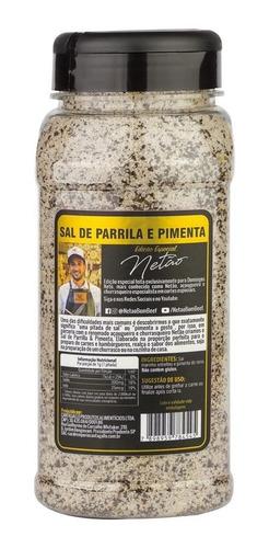 sal de parrilla & pimenta ed. especial netão premium