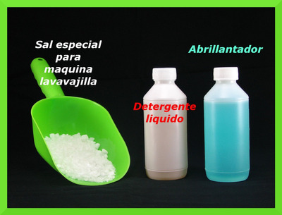 sal especial para maquina lavavajilla