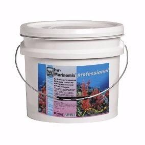 sal hw  marinemix profissional 12,5 kg - balde