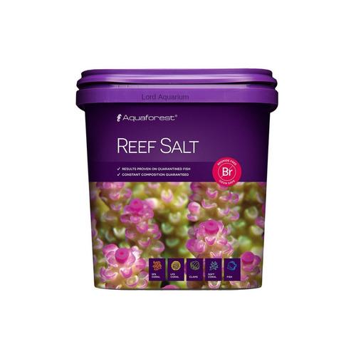 sal marinho aquaforest reef 5 kg para aquário misto soft lps