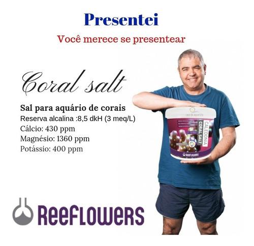 sal marinho reeflowers caledonia reef salt 6,5kg