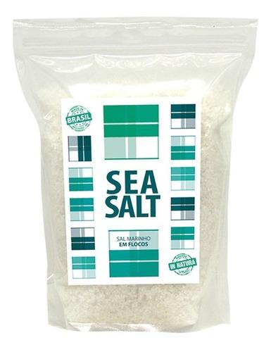 sal marinho sea salt natural - 100% integral 05x01kg  (5 kg)