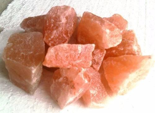 Piedras de sal rosada partidas x 1kg para lamparas de - Piedra de sal del himalaya ...