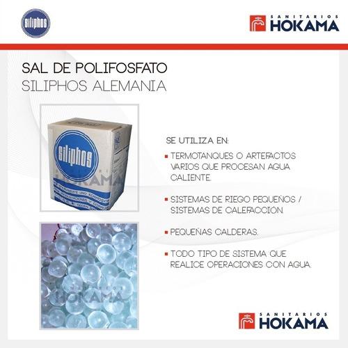 sal polifosfato anti sarro siliphos filtro alemania 1kg casa