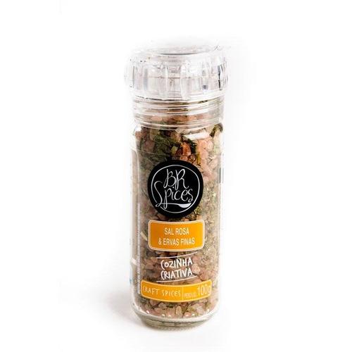sal rosa & ervas finas 100g - br spices