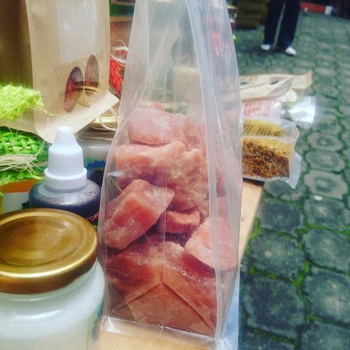 sal rosada comestible del himalaya