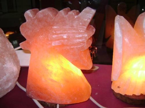 sal rosada  en piedra partida,  por  8 kg, lamparas de sal