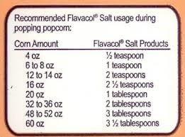 sal sazonador palomitas maíz  flavacol 22.7 kgs envió gratis