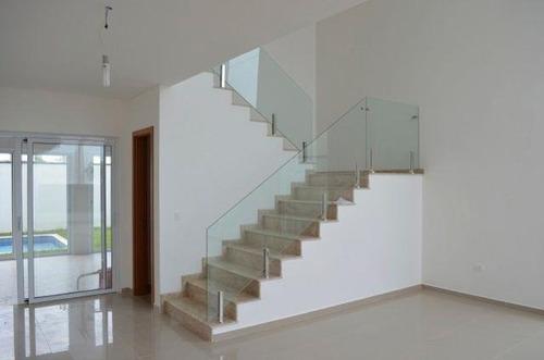 sala 2 ambientes - escada em mamore