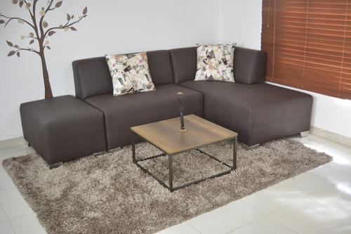 sala 3 modulos+ mesa de centro+ cojines=super oferta