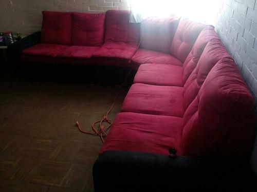 sala 4/pzas rojo con negro