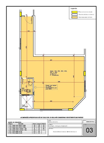 sala aérea em blumenau - sl019