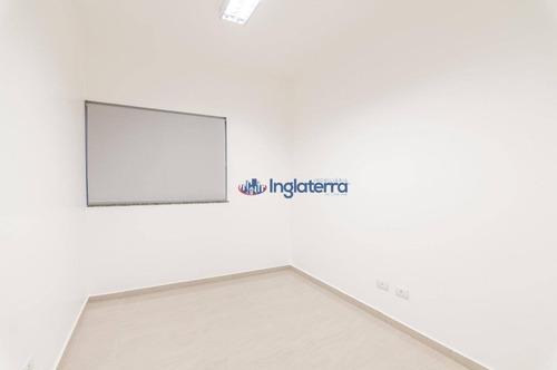 sala alto parão para alugar, 350 m² por r$ 12.250/mês - ipanema - londrina/pr - sa0088