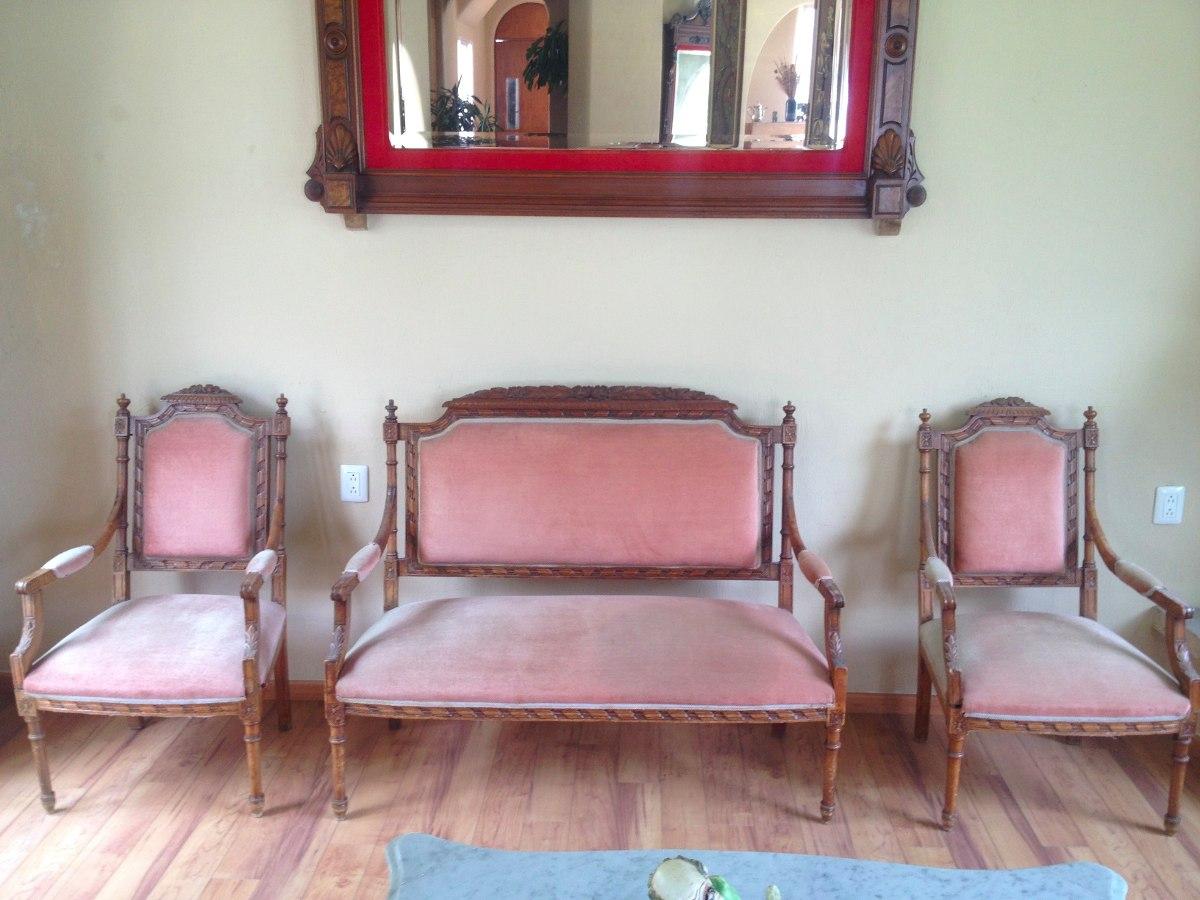 Sala antigua estilo luis xvi 130 en mercado libre Muebles de sala luis xvi