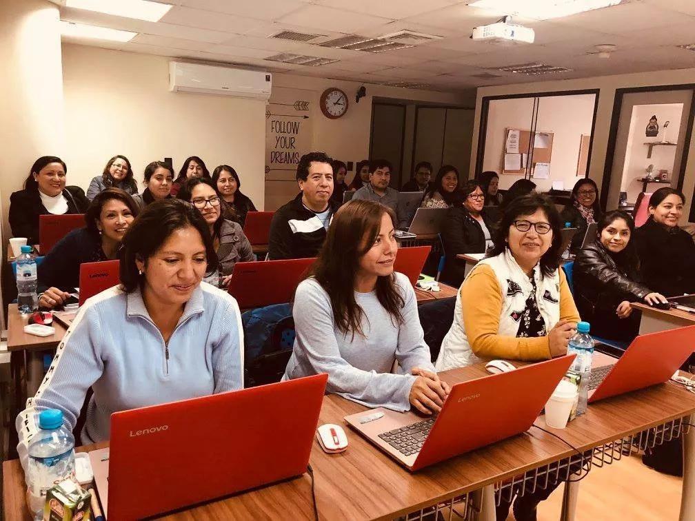 sala capacitacion conferencia curso taller miraflores local
