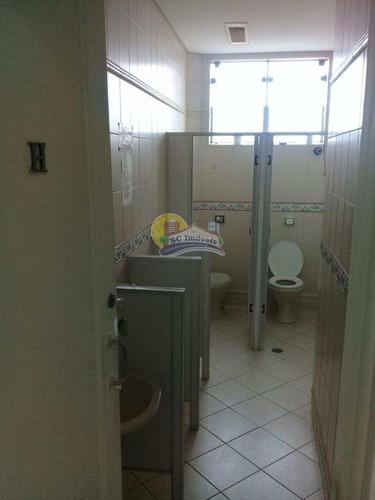 sala, centro, santos - r$ 160.000,00, 24m² - codigo: 3505 - a3505