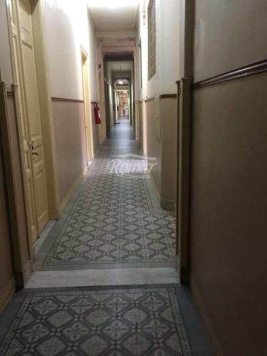 sala, centro, santos - r$ 180 mil, cod: 454 - a454