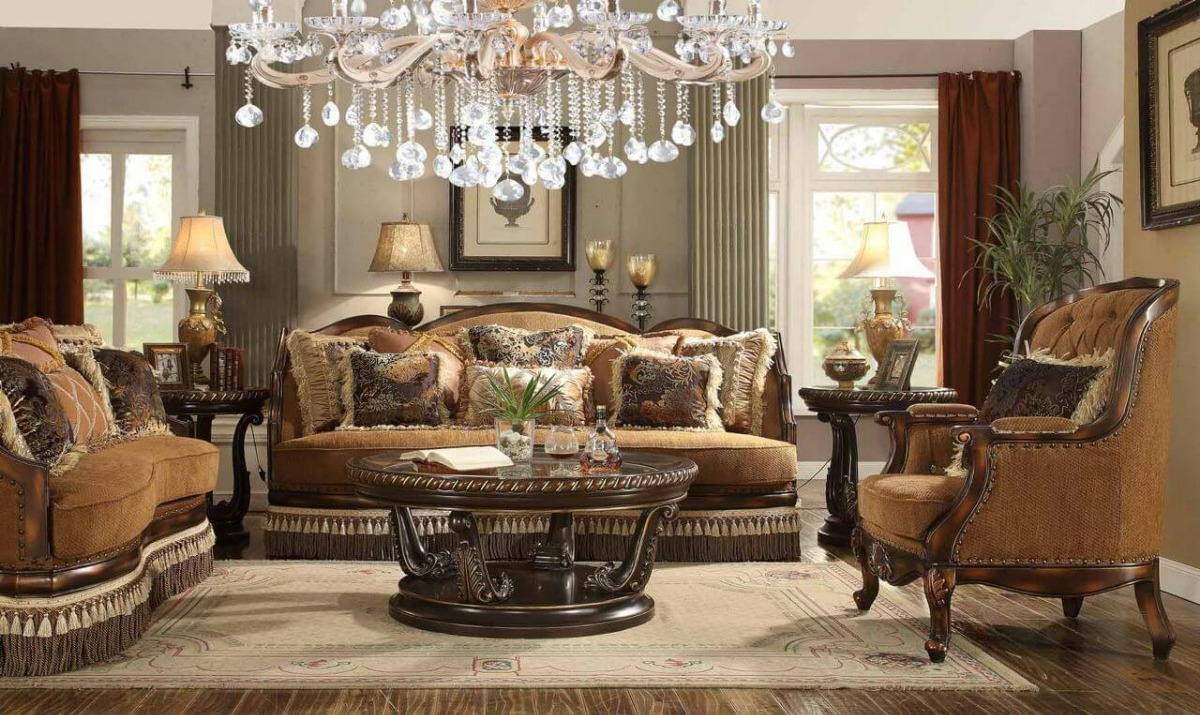 Sala clasica elegante sala estilo luis xv sala elegante for Decoracion de salas clasicas modernas