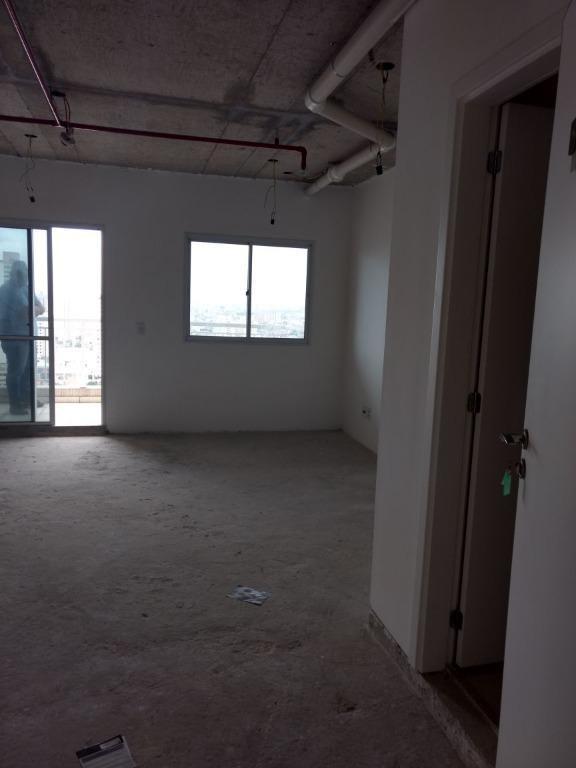 sala com 40 m²,  2 vagas, no contra-piso. - sa0211
