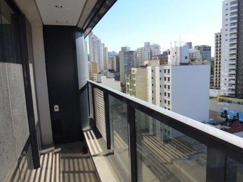 sala com ar condicionado, 02 banheiros - consolação - sa0246