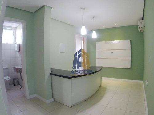 sala com área privativa de 66 m², vaga dupla de garagem, na av. rio branco- sa0209 - sa0209